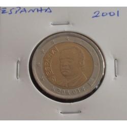 Espanha - 2 Euro - 2001