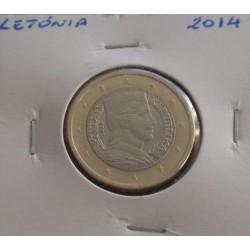 Letónia - 1 Euro - 2014