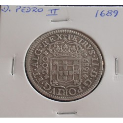 D. Pedro II - 12 Vinténs -...
