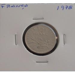 França - 1/2 Franc - 1978