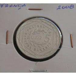 França - 5 Euro - 2008 - Prata