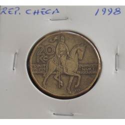 Rep. Checa - 20 Korun - 1998