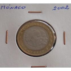 Mónaco - 1 Euro - 2002
