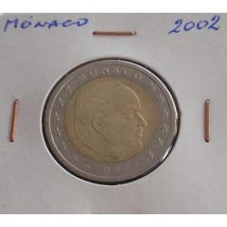 Mónaco - 2 Euro - 2002