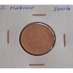 S. Marino - 5 Centimos - 2004