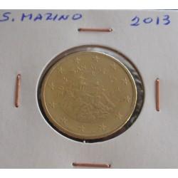 S. Marino - 50 Centimos - 2013