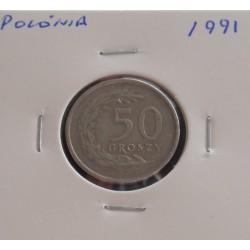 Polónia - 50 Groszy - 1991