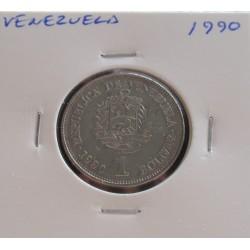 Venezuela - 1 Bolivar - 1990