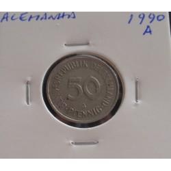 Alemanha - 50 Pfennig - 1990 A