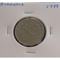 Bulgária - 50 Stotinki - 1999