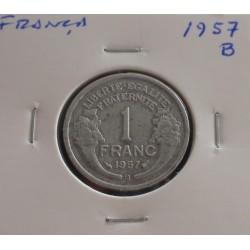 França - 1 Franc - 1957 B