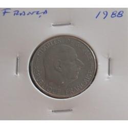 França - 1 Franc - 1988 -...