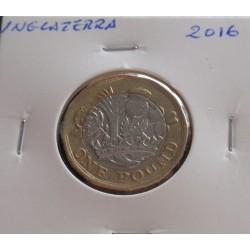 Inglaterra - 1 Pound - 2016
