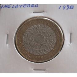 Inglaterra - 2 Pounds - 1998