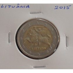 Lituânia - 2 Euro - 2015