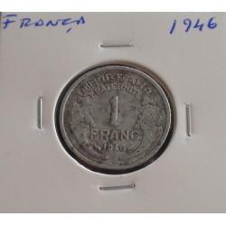 França - 1 Franc - 1946