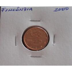 Finlândia - 1 Centimo - 2000