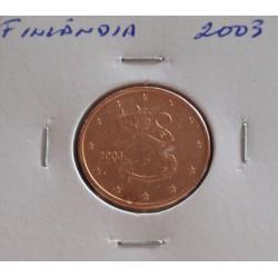 Finlândia - 5 Centimos - 2003