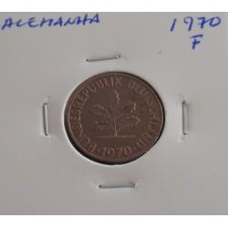 Alemanha - 2 Pfennig - 1970 F