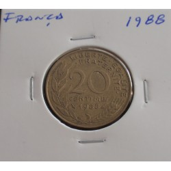 França - 20 Centimes - 1988