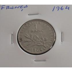 França - 1 Franc - 1964
