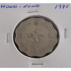 Hong - Kong - 2 Dollars - 1975