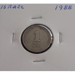 Israel - 1 New Sheqel - 1988