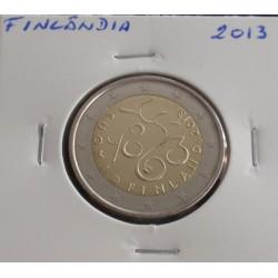 Finlândia - 2 Euro - 2013 -...