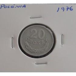 Polónia - 20 Groszy - 1976