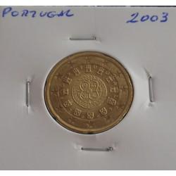 Portugal - 20 Centimos - 2003