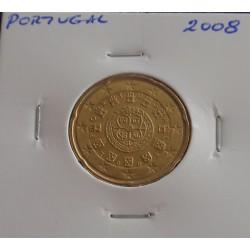Portugal - 20 Centimos - 2008