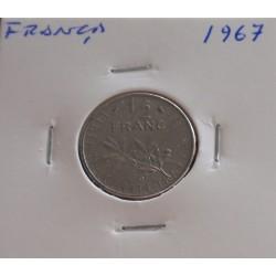 França - 1/2 Franc - 1967