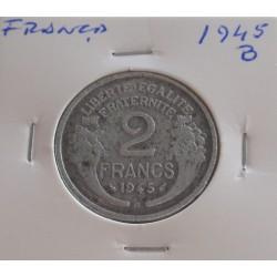 França - 2 Francs - 1945 B