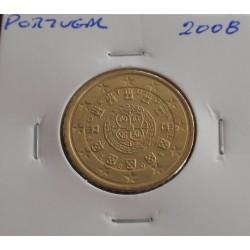 Portugal - 50 Centimos - 2008