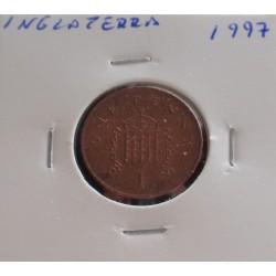 Inglaterra - 1Penny - 1997