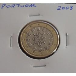 Portugal - 1 Euro - 2003