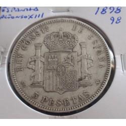 Espanha - Alfonso XIII - 5...