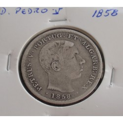 D. Pedro V - 500 Réis -...