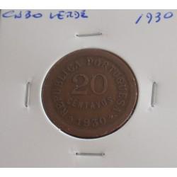 Cabo Verde - 20 Centavos -...