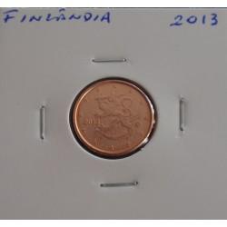 Finlândia - 1 Centimo - 2013
