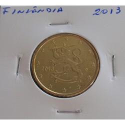 Finlândia - 50 Centimos - 2013
