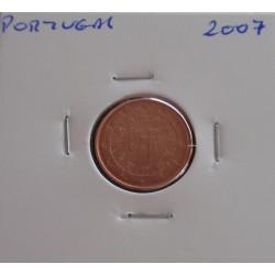 Portugal - 1 Centimo - 2007