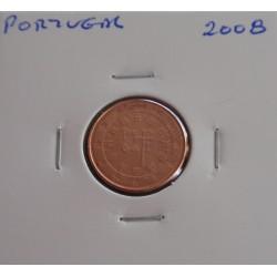 Portugal - 1 Centimo - 2008