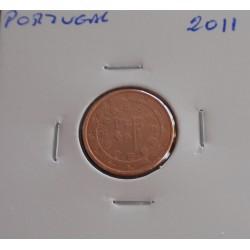 Portugal - 1 Centimo - 2011