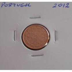 Portugal - 1 Centimo - 2012