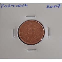 Portugal - 2 Centimos - 2007