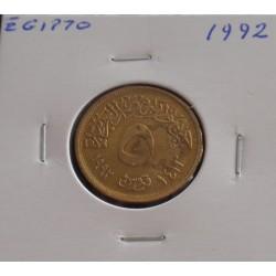 Egipto - 5 Piastres - 1992