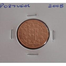 Portugal - 5 Centimos - 2008