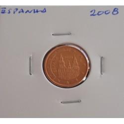 Espanha - 1 Centimo - 2008
