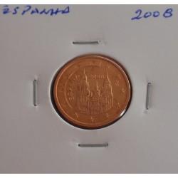 Espanha - 2 Centimos - 2008